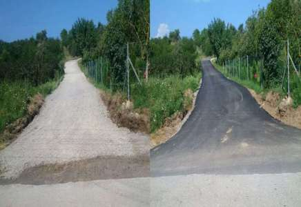 Parama Prokupčana asfaltiran put do kuće poslanika
