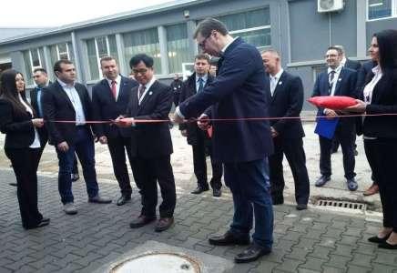 Vučić otvorio novi pogon u kome će se uposliti 450 radnika