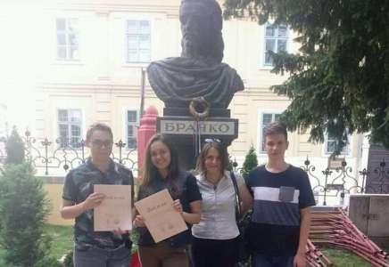 Prokupački srednjoškolci među najboljima na Književnoj olimpijadi u Karlovcima