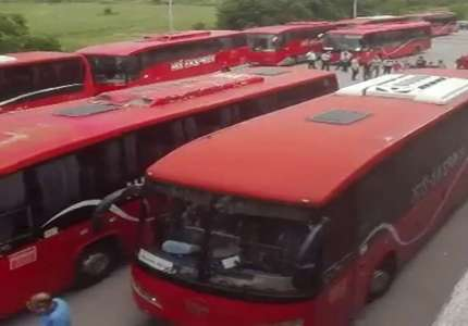 Ko je jutros  blokirao Hitnu službu? Naprednjaci se zabrojali, četiri autobusa ostala prazna