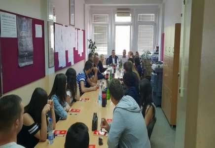 Studenti iz Alabame posetili Visoku poslovnu školu strukovnih studija u Blacu