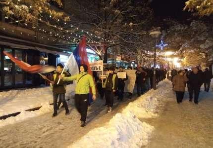Protest u Prokuplju drugi put - duplo više ljudi i dodati zahtevi