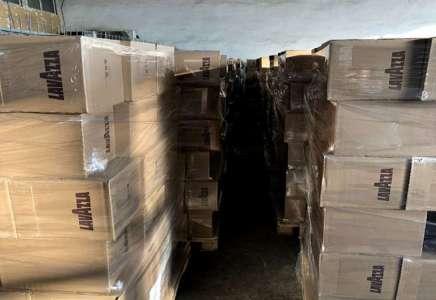 Na Merdaru zaplenjeno skoro 7 tona espreso kafe